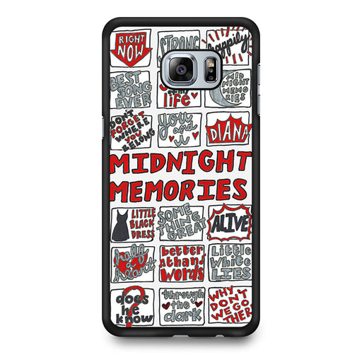 1D Midnight Memories Collage Samsung Galaxy S6 Edge Plus case