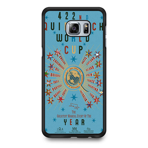 422nd Quidditch World Cup Poster Samsung Galaxy S6 Edge Plus case