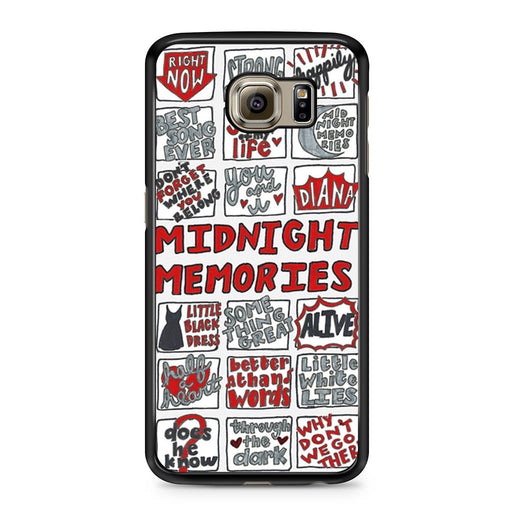 1D Midnight Memories Collage Samsung Galaxy S6 case