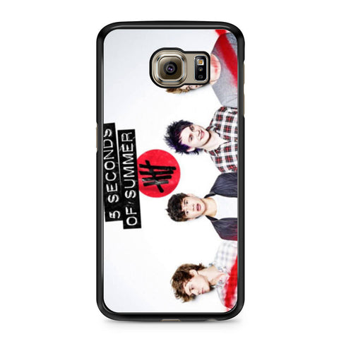 5 Seconds of Summer 5SOS Band Samsung Galaxy S6 case