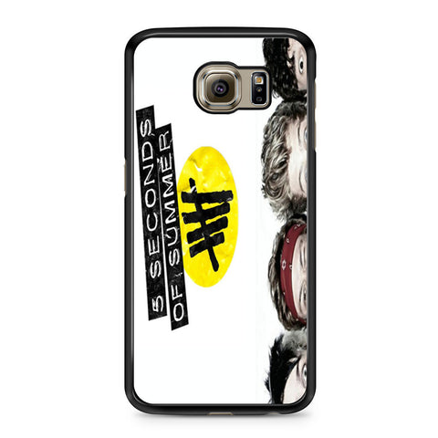 5 Seconds of Summer 5SOS Funny Eyes Samsung Galaxy S6 case