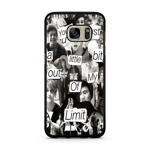 5 Seconds Of Summer Collage Samsung Galaxy S7 case