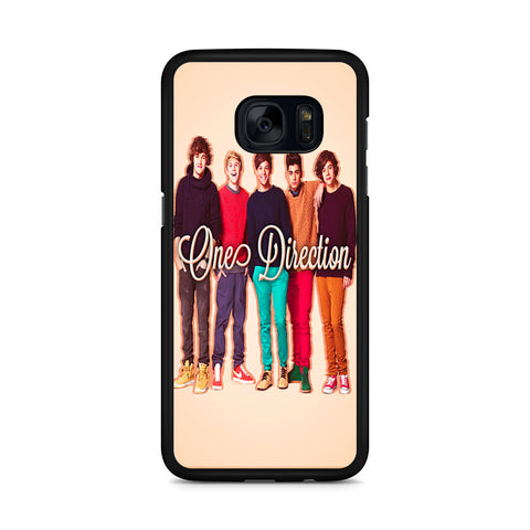 1D One Direction Personnel Samsung Galaxy S7 Edge case