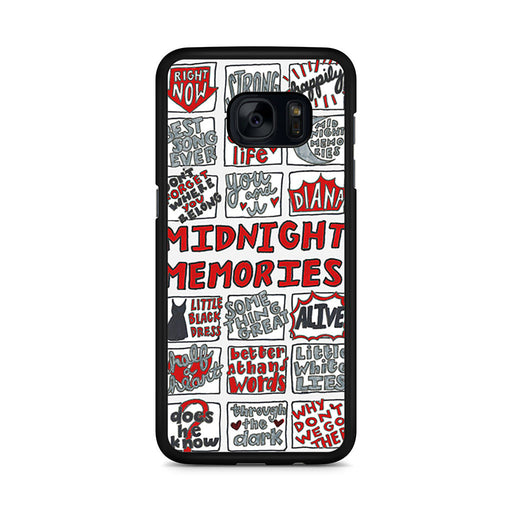 1D Midnight Memories Collage Samsung Galaxy S7 Edge case