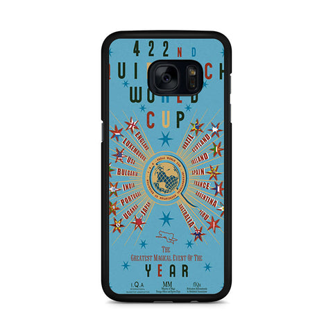 422nd Quidditch World Cup Poster Samsung Galaxy S7 Edge case
