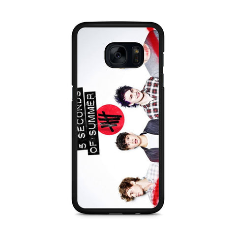 5 Seconds of Summer 5SOS Band Samsung Galaxy S7 Edge case