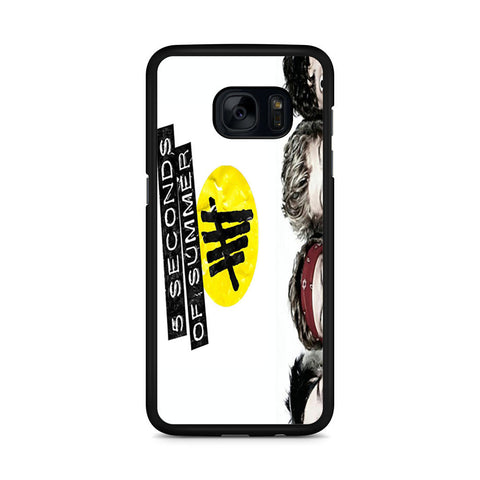 5 Seconds of Summer 5SOS Funny Eyes Samsung Galaxy S7 Edge case