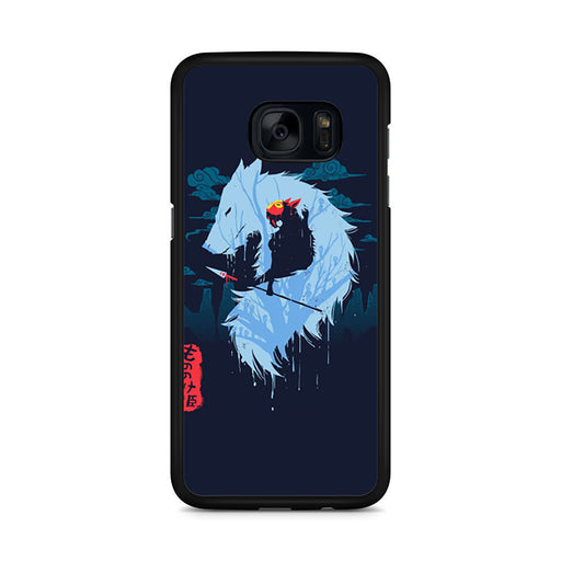 Hime Princess Mononoke Samsung Galaxy S7 Edge case