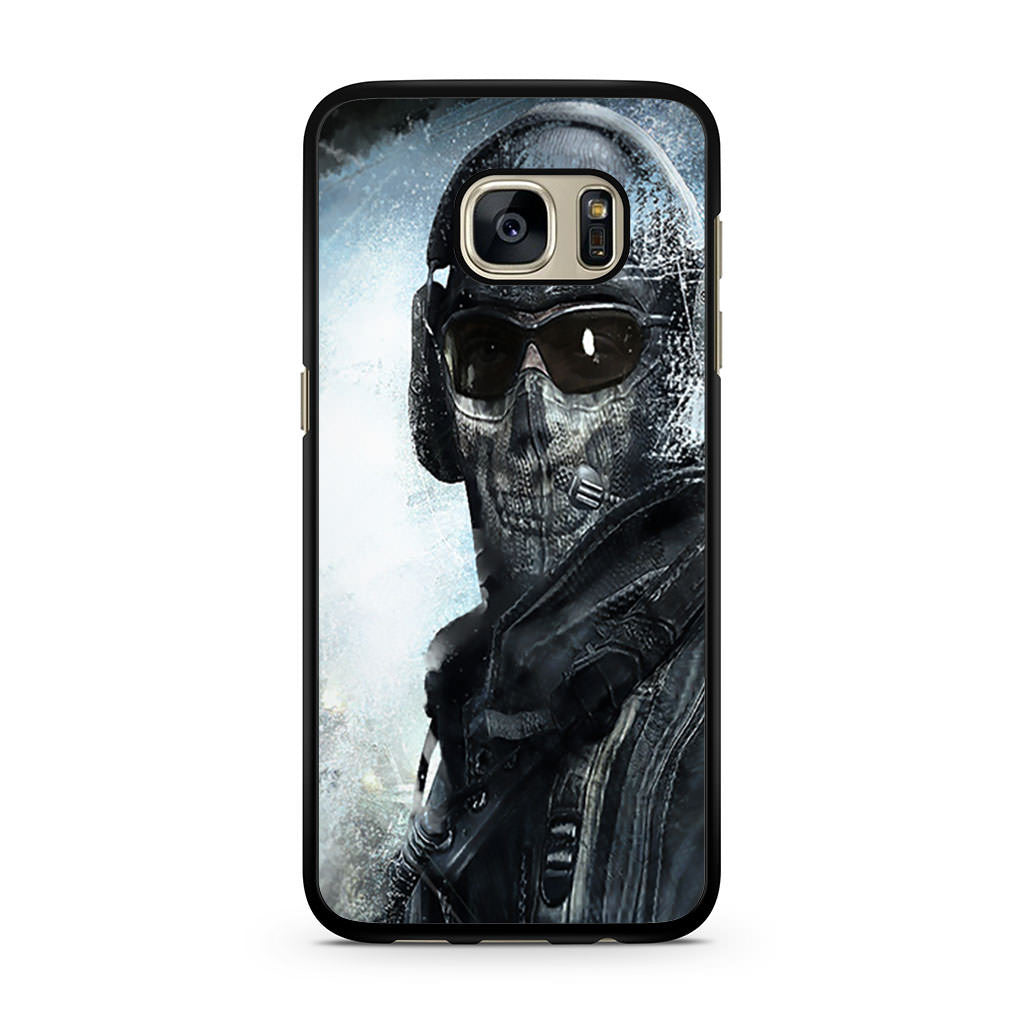 Call Of Duty Ghost Mask Samsung Galaxy S7 case – Case Persona