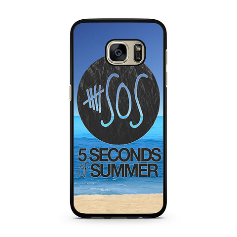 5 Seconds of Summer Beach Samsung Galaxy S7 case