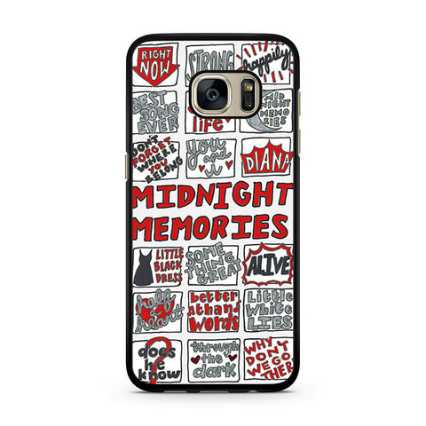 1D Midnight Memories Collage Samsung Galaxy S7 case