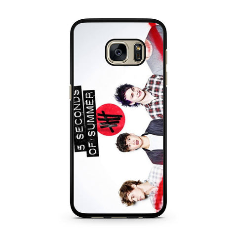 5 Seconds of Summer 5SOS Band Samsung Galaxy S7 case