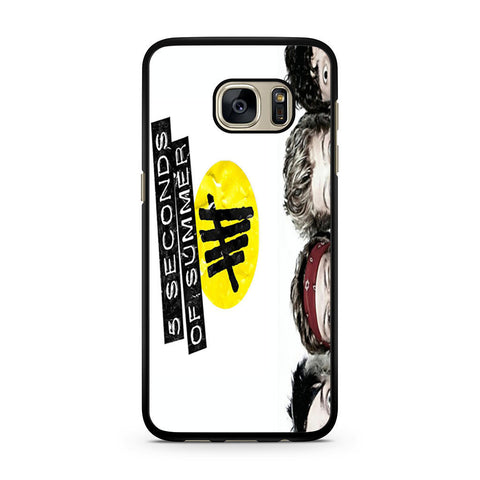 5 Seconds of Summer 5SOS Funny Eyes Samsung Galaxy S7 case