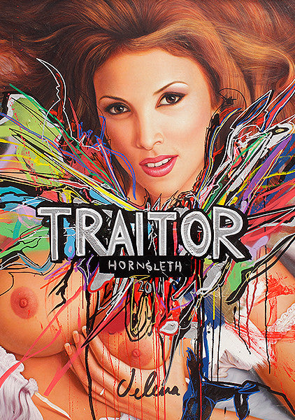 """TRAITOR"" Wall Art by Hornsleth. Affordable art poster, created from the original art piece. A provocative and sexy art piece by Danish artist Kristian von Hornsleth."