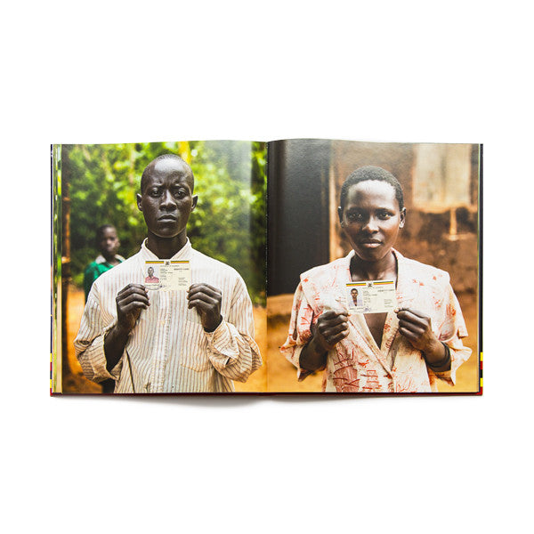 This amazing hard cover coffee table book describes The 'Hornsleth Village Project Uganda' art project from 2006, where 100 people from the small village central in Uganda was invited to change their name to 'Hornsleth' in exchange for livestock animals.
