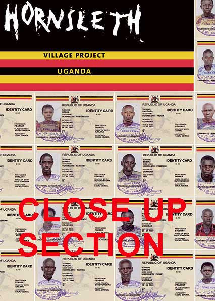 """VILLAGE PROJECT UGANDA ID CARDS"" - Art Poster by Hornsleth"