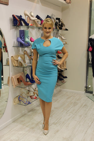 Turquoise Blue Bodycon Dress