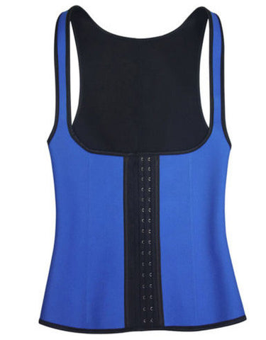 Blue Waist Training Vest