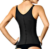 Latex Waist Trainer Vest - Black