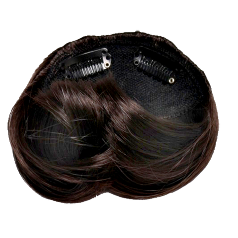 Braided Odango Wig Buns Dark Brown