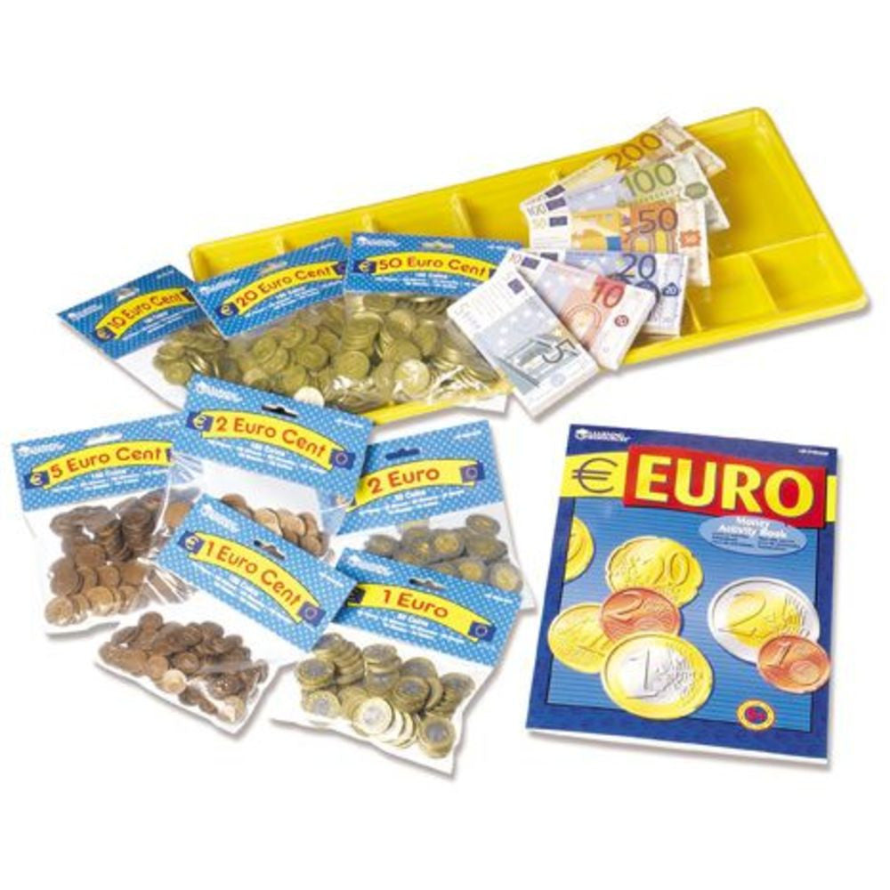 Learning Resources Euro Money Classroom Set