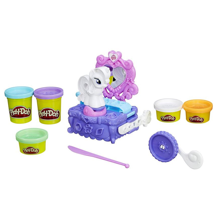 Play Doh MLP Rarity Style & Spin