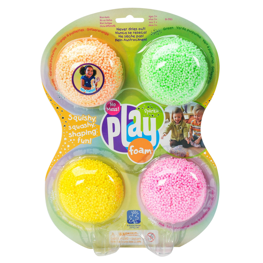 Playfoam Sparkle Starter 4 Pack