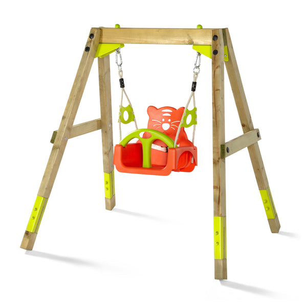 Wooden Growing Swing Set