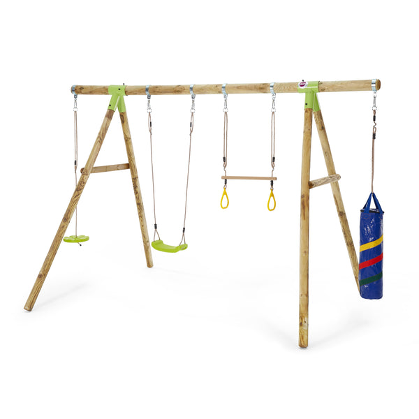 Capuchin Wooden Swing Set