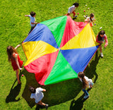 Traditional Parachute 6M with 16 Handles