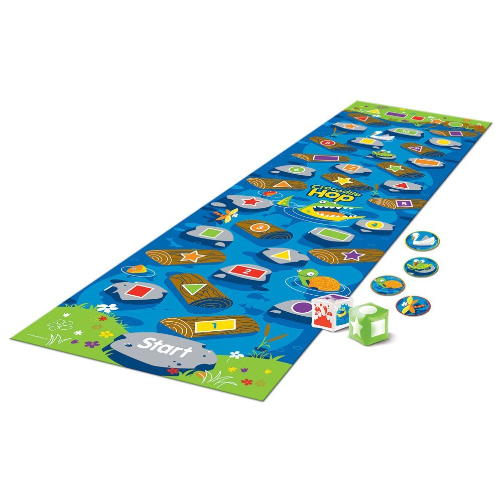 Crocodile Hop Early Maths Activity Set