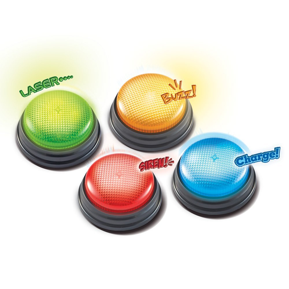 Answer Buzzers Light and Sound