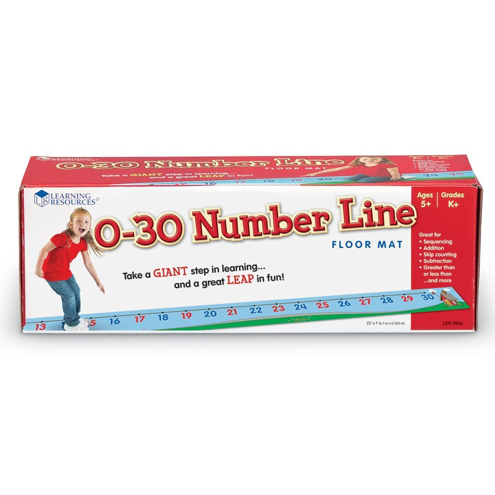 0-30 Number Line Floor Matt