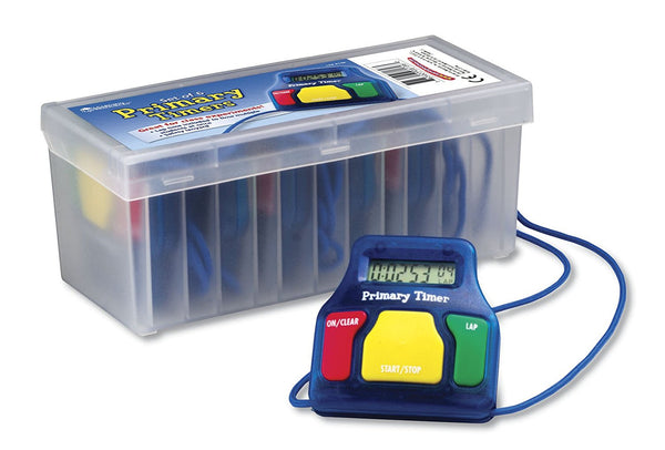 Primary Timers, Pack of 6