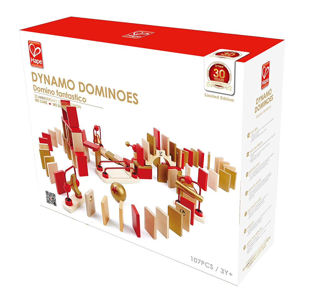 Hape Dynamo Dominoes 30th Anniversary Edition