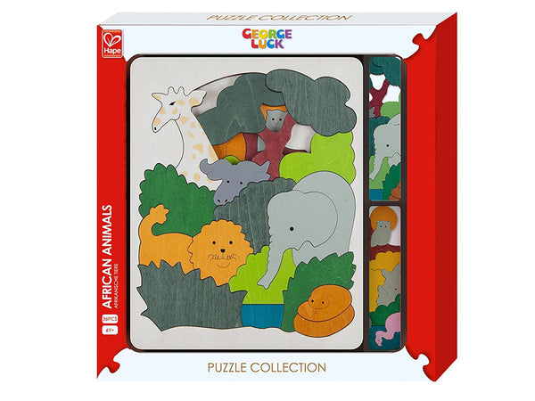 George Luck African Animals Puzzle