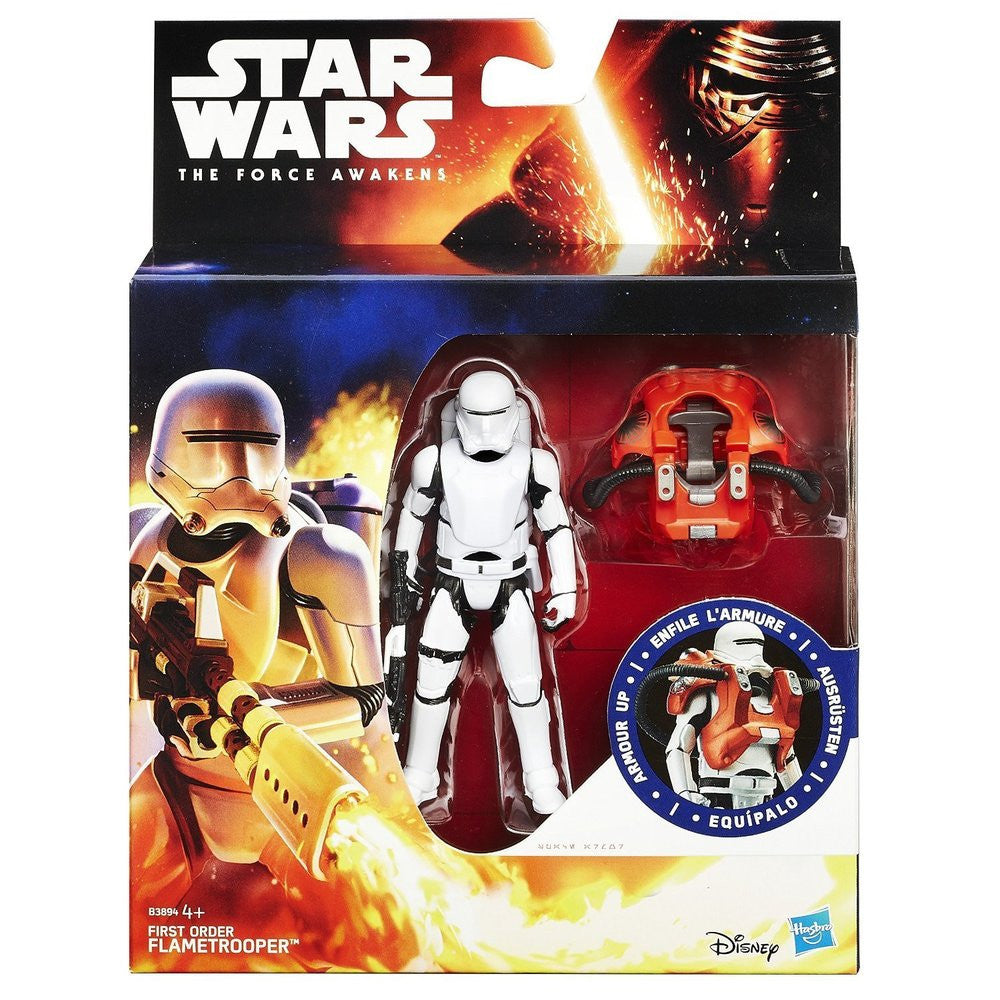 Star Wars First Order Flame Trooper Armour Up