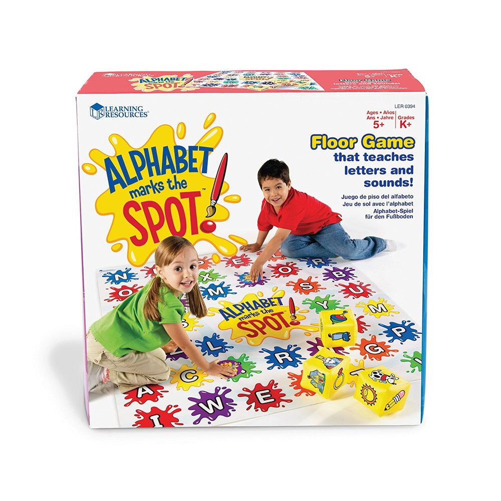 Learning Alphabet Math Marks the Spot