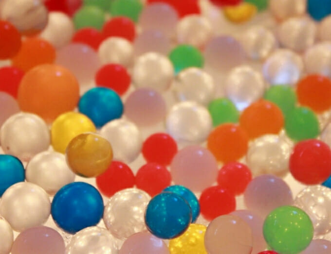 Colour Bead for Dry Pool