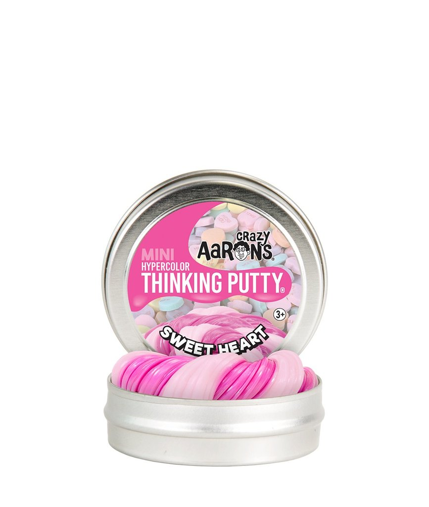 Crazy Aaron's Mini Valentine Sweetheart Thinking Putty