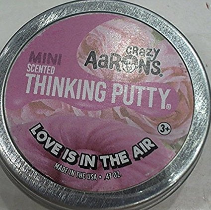 Crazy Aaron's Mini Love is in the Air Thinking Putty