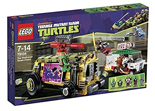 Lego Teenage Mutant Ninja TurtlesThe Shellraiser Street Chase