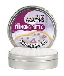 Crazy Aaron's Large Artic Flare Thinking Putty Phantom's