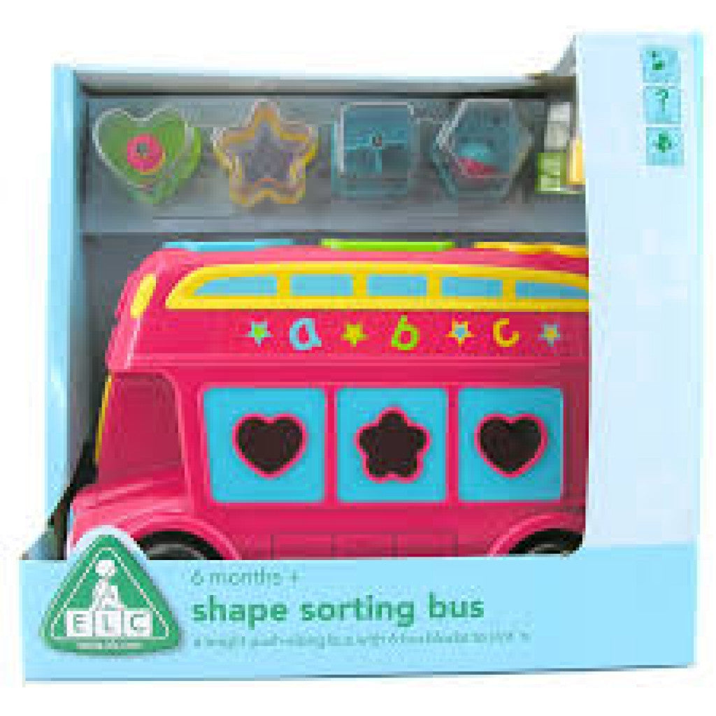 Early Learning Shape Sorting Bus