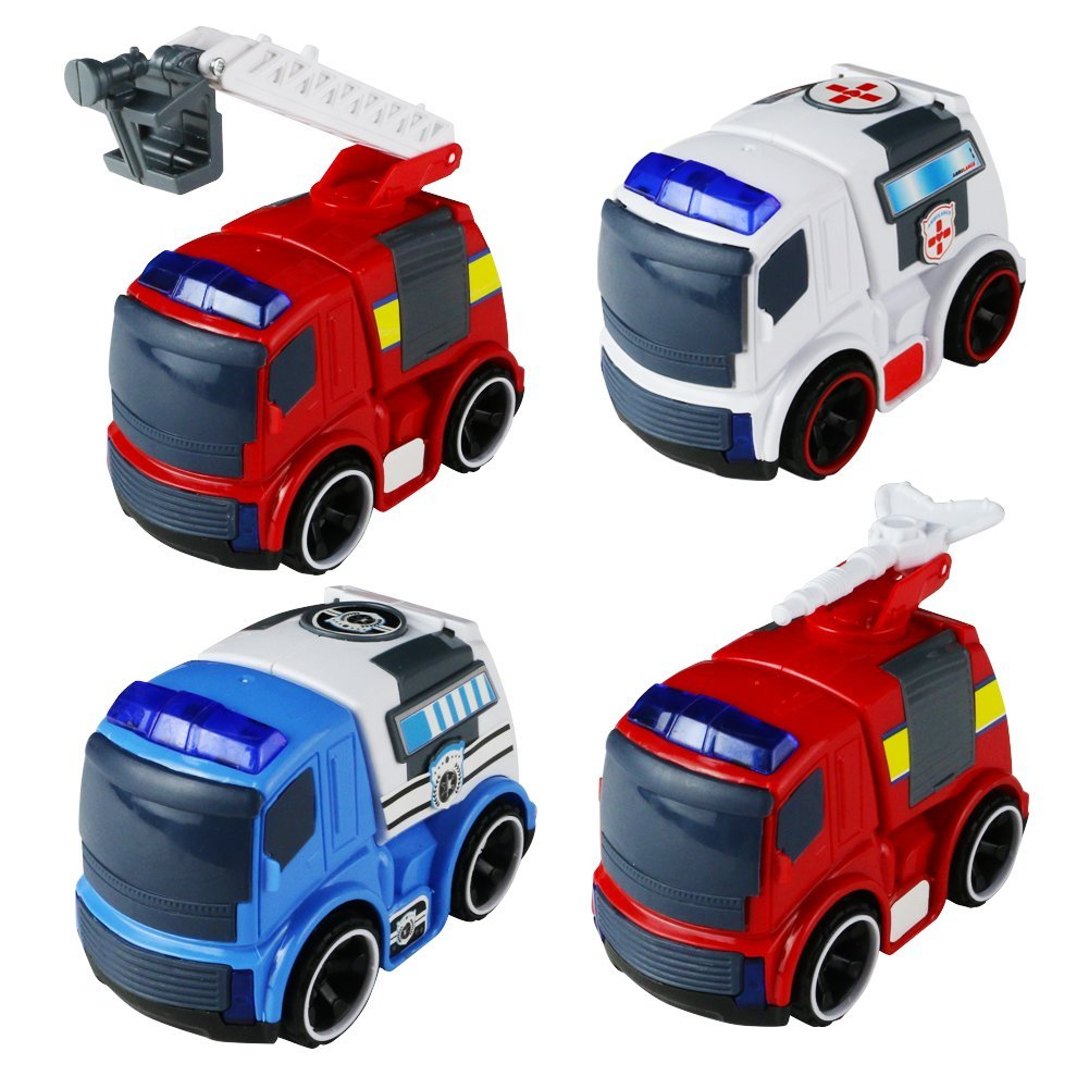 Emergency Vehicles Sound and Lights