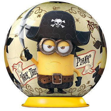 Ravensburger Minion 54pc Puzzleball 3D