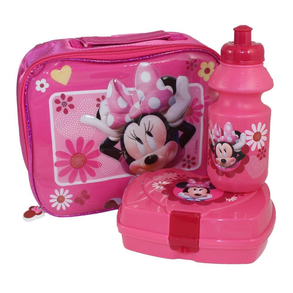 Minnie Mouse 3 Piece Lunch Set