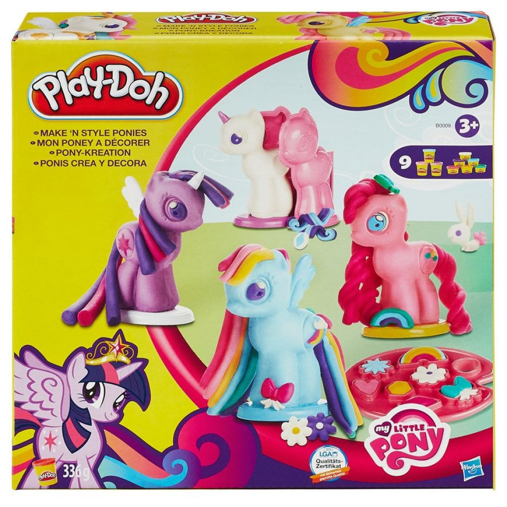 Play Doh Make And Style Ponies- My Little Pony