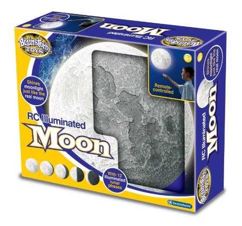 Brainstorm Remote Controlled Illuminated Moon