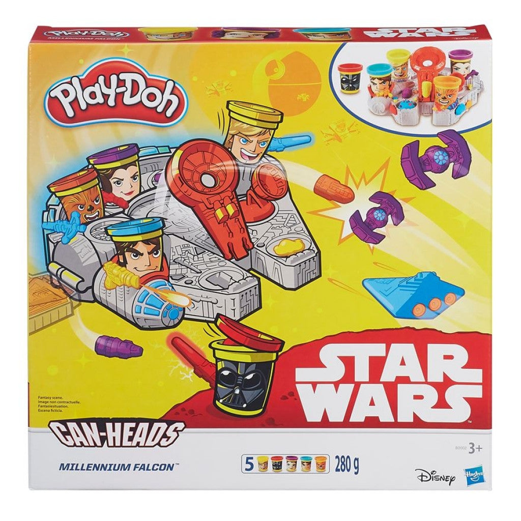 Play Doh Star Wars Millennium Falcon